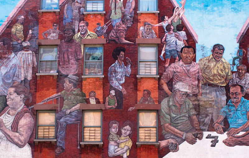"""The Spirit of East Harlem,"" by Hank Prussing and Manny Vega"