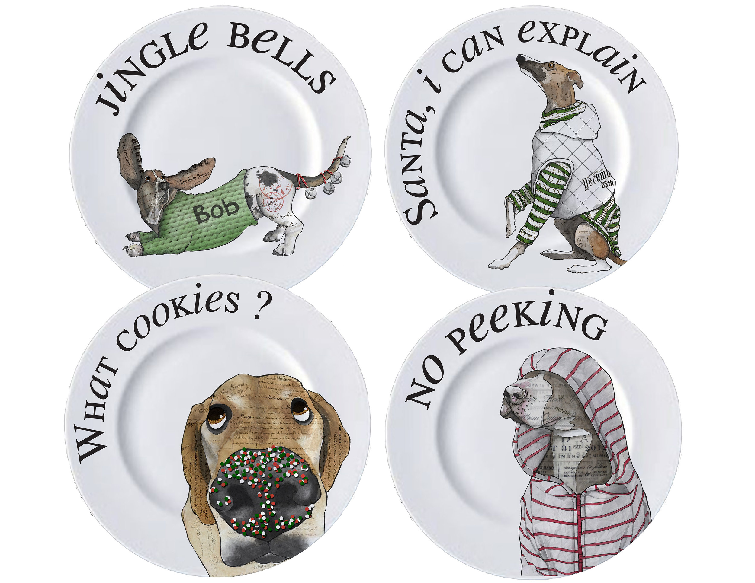 CA Christmas dog plates.jpg