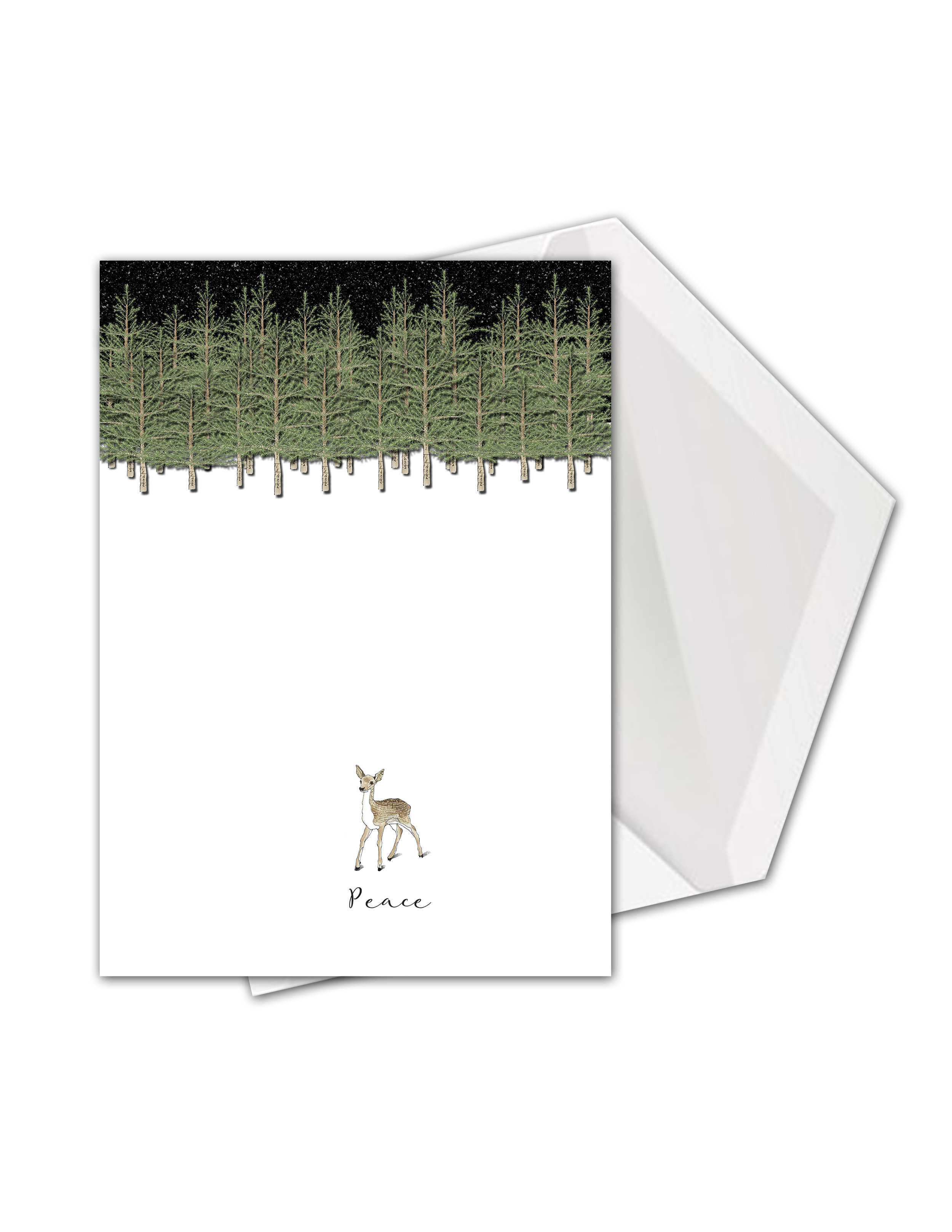 CA Deer out of woods PEACE card mock.jpg