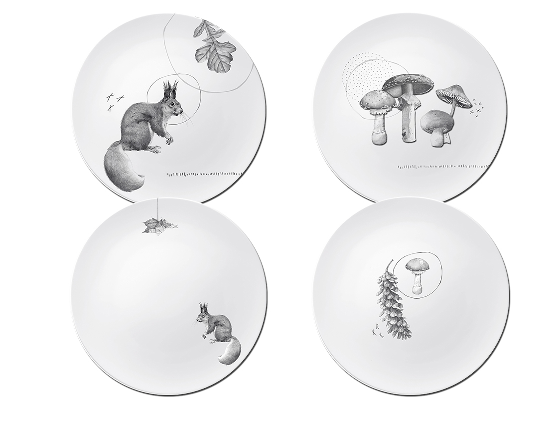 CA Fall 18 squirrel and mushroom plate collection.jpg