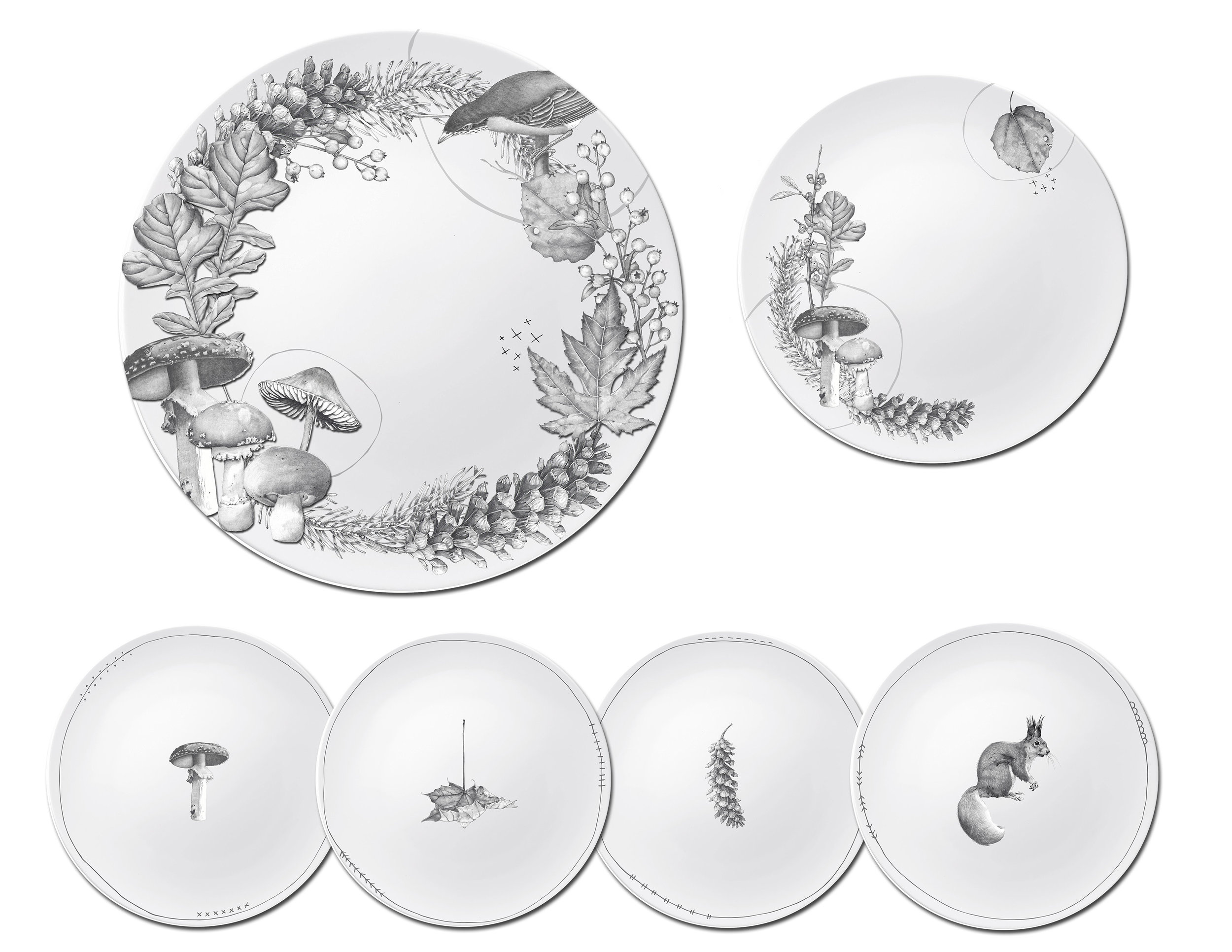 CA Fall 18 Squirrel and woodlands plate set.jpg