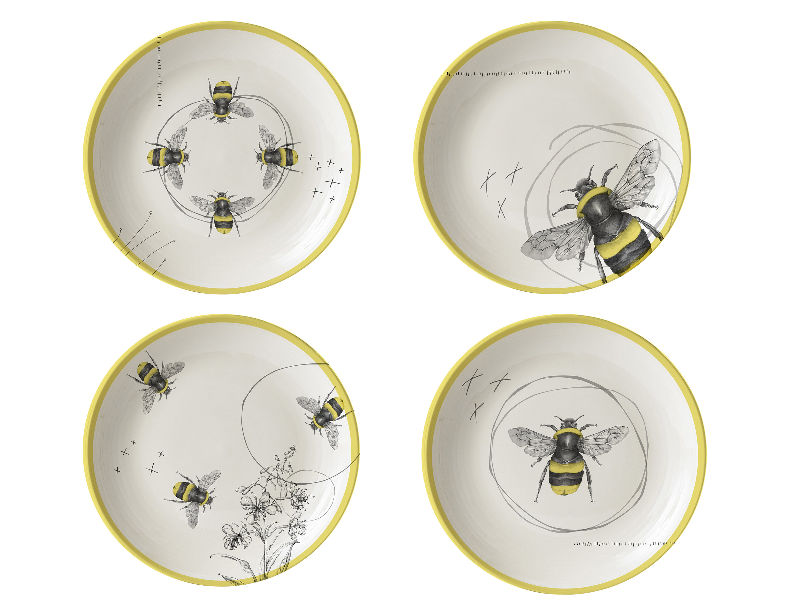 CA HI New Bee Appetizer plates.jpg