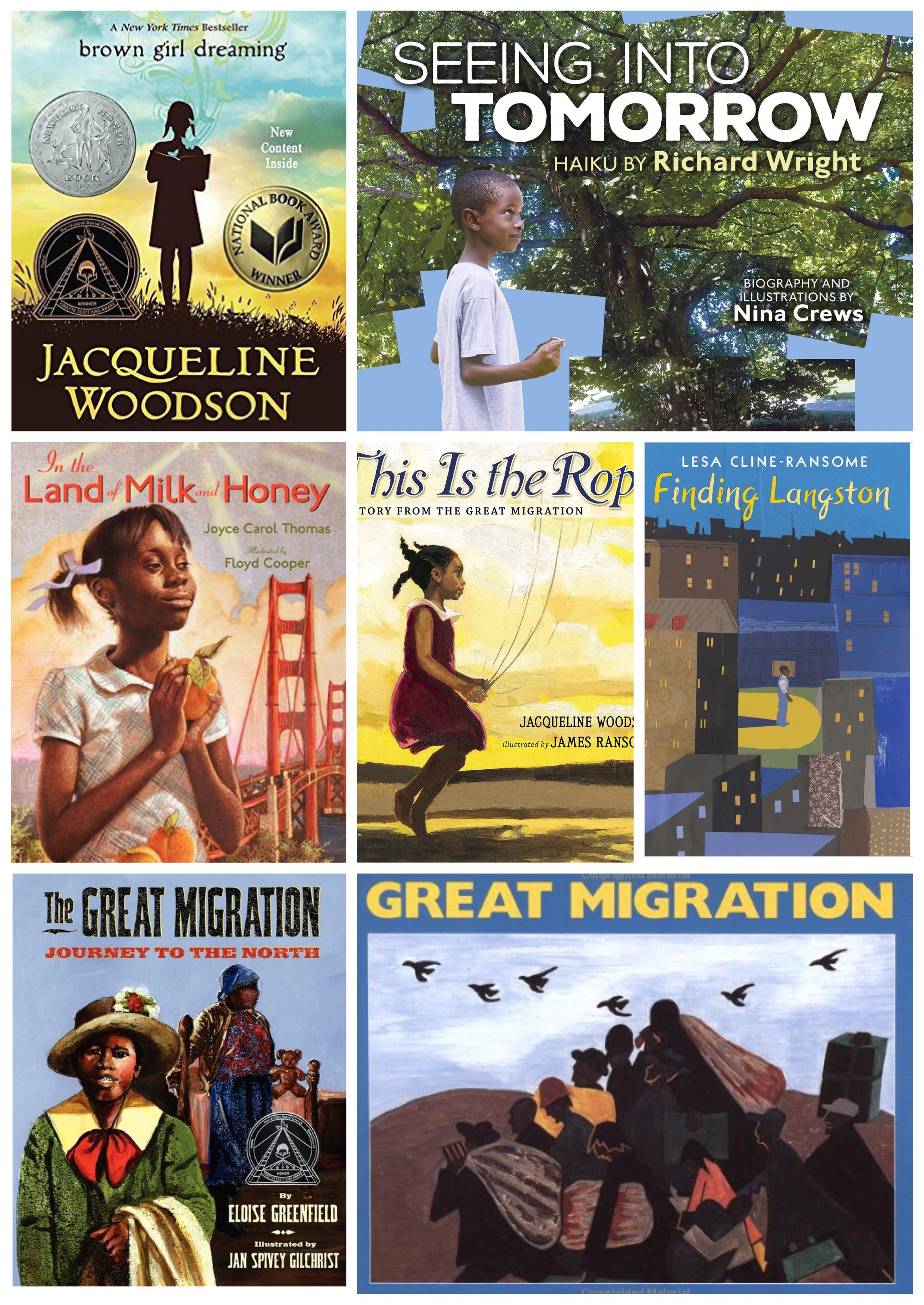 For the kids… - books on the great migration