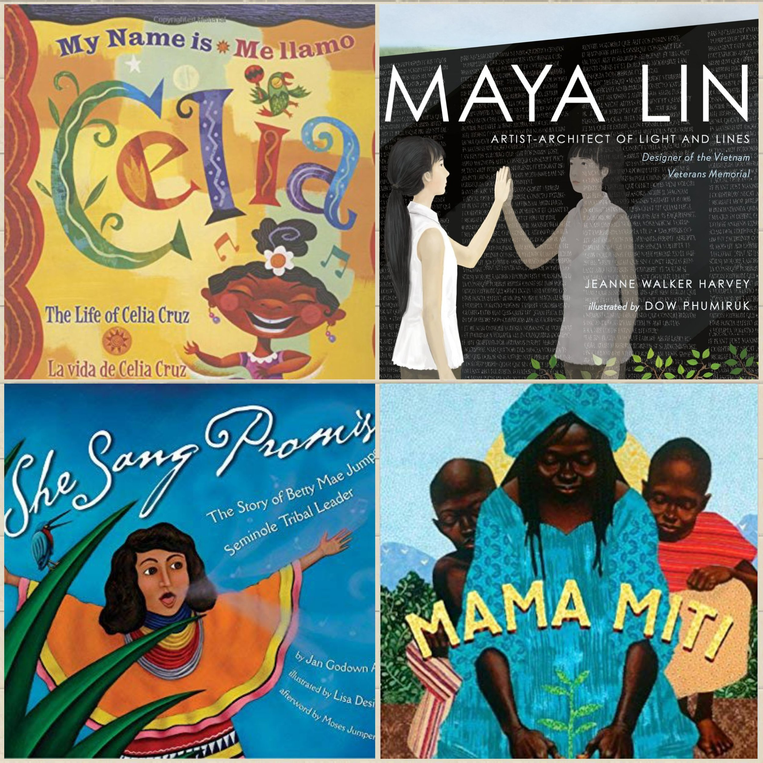 FOR THE KIDS… - books celebrating Women of Color you may not know…yet!