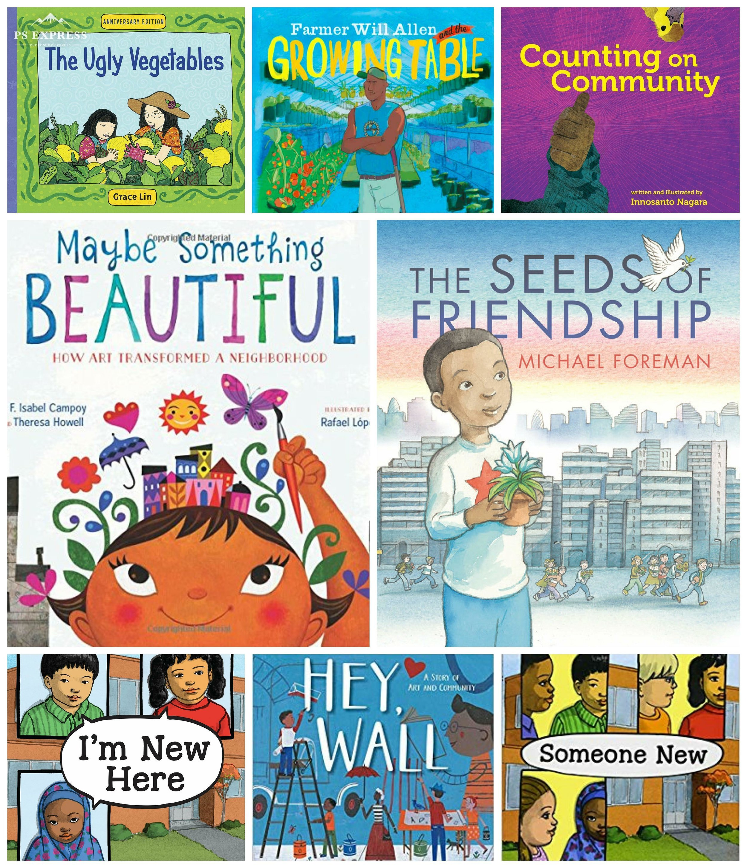 FOR THE KIDS - books celebrating community