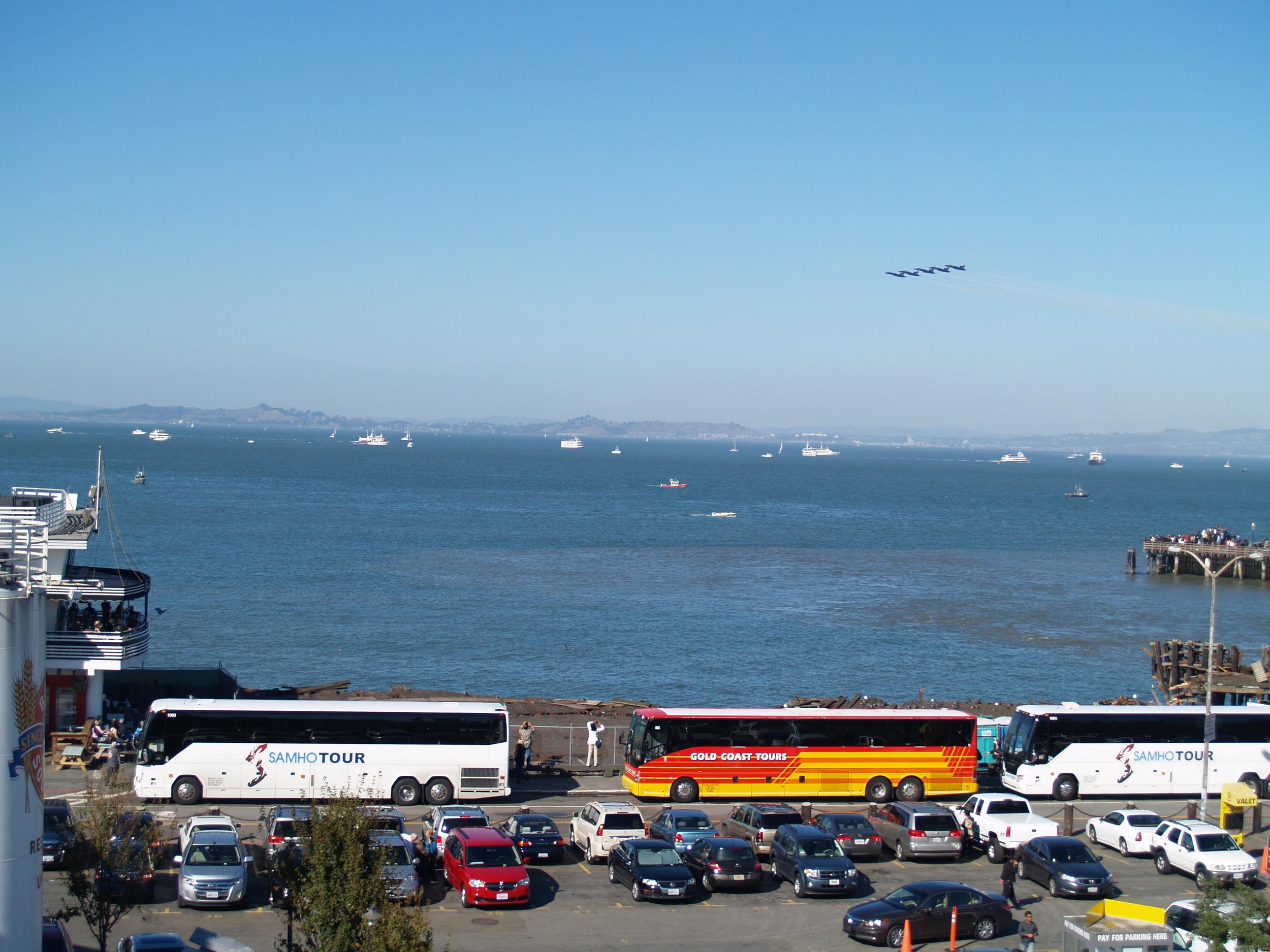 Tour Bus Parking