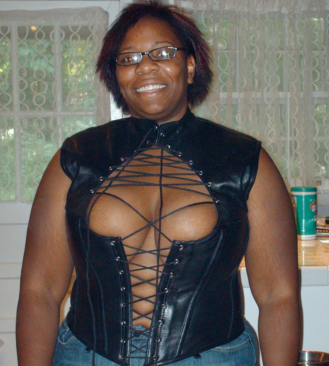 That corset kinda makes me blush.
