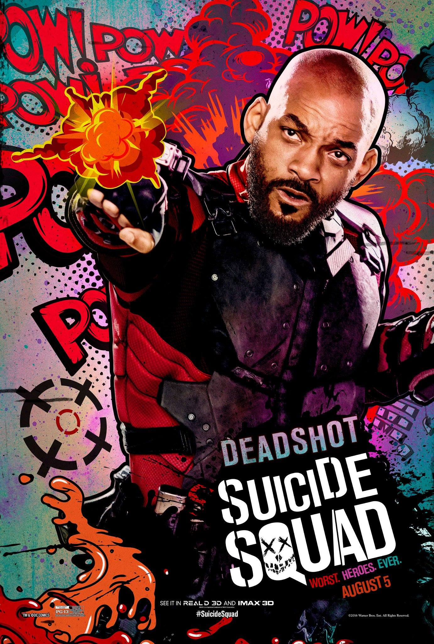 Deadshot played by Will Smith