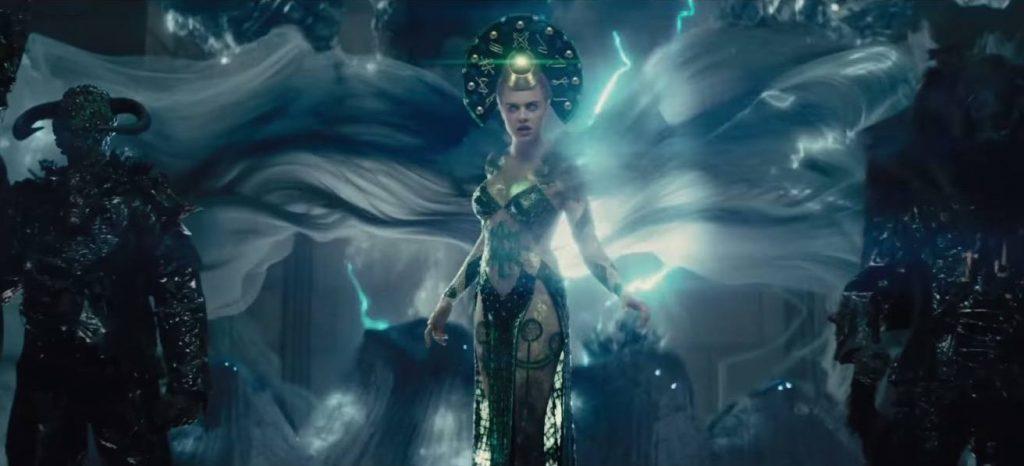 Enchantress played by Cara Delevinge