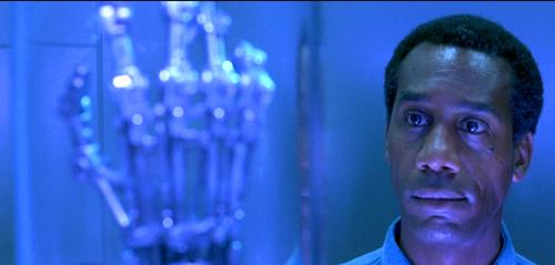 Joe Morton in Terminator 2: Judgement Day