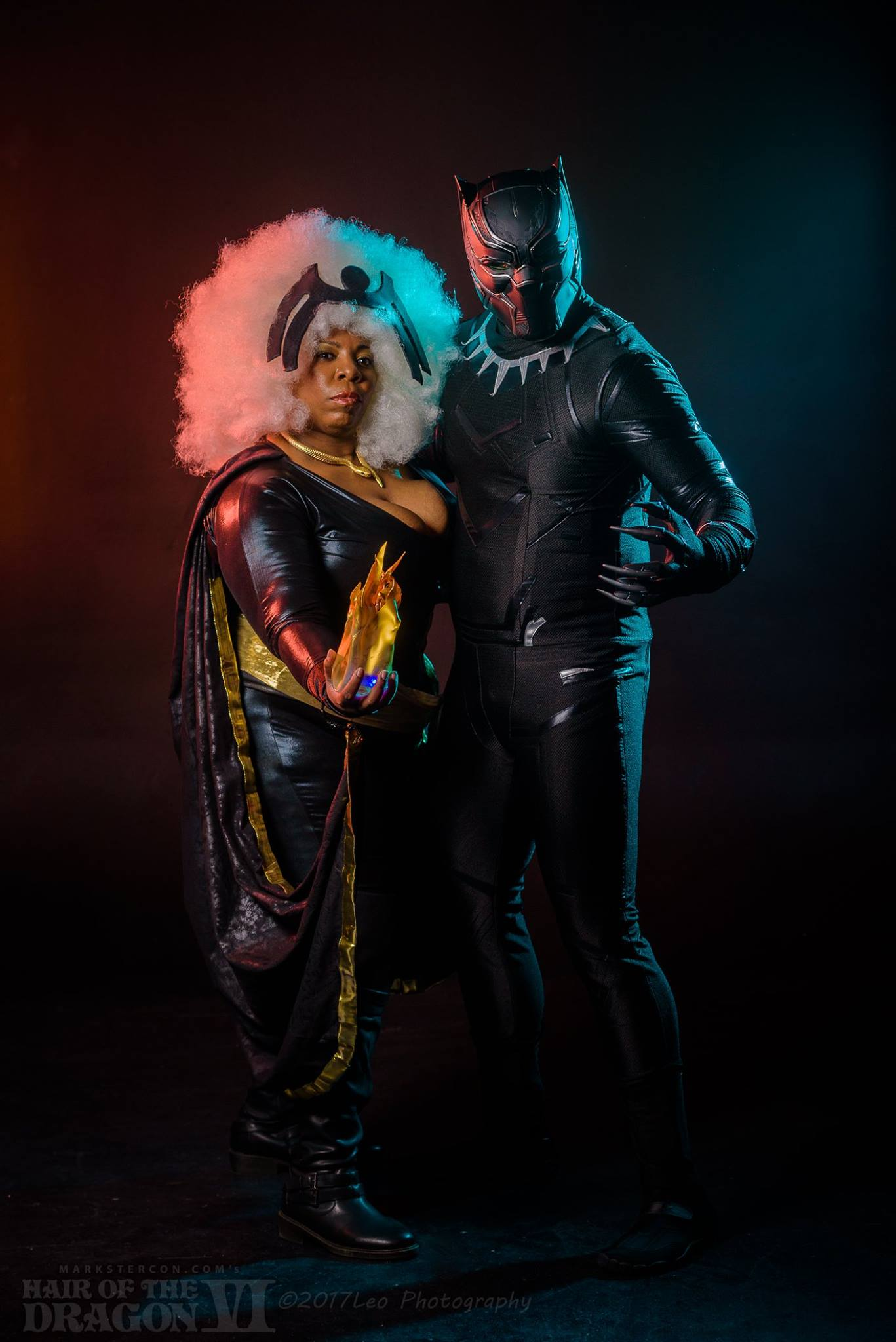 Storm and Black Panther David Leo8.jpg