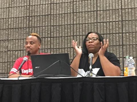 Panelists: Barr Foxx Cosplay and TaLynn Kel