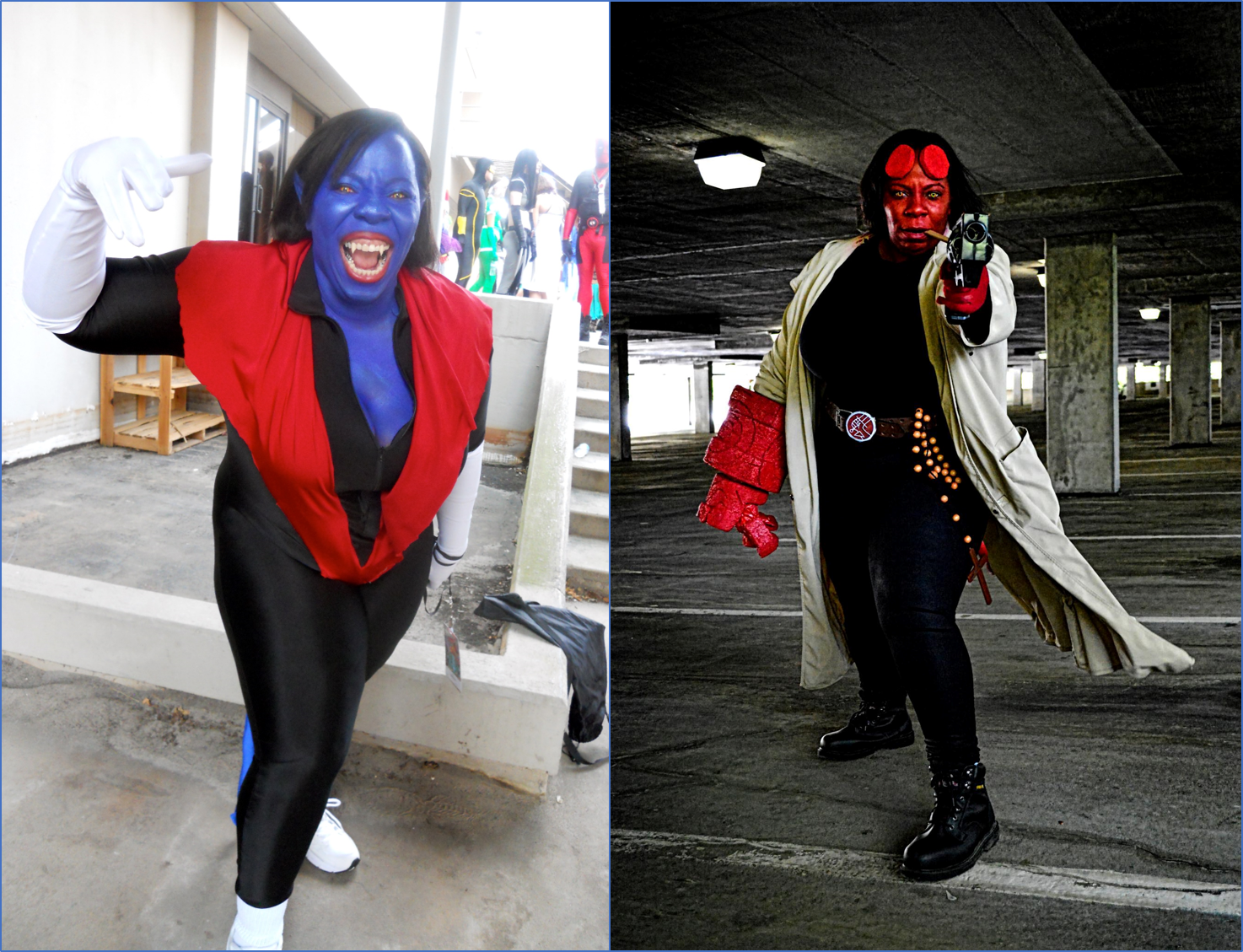 2011 Nightcrawler pic and 2012 Hellboy pic. Hellboy photo by  Jason Bohannon of Soulfuric Studios .