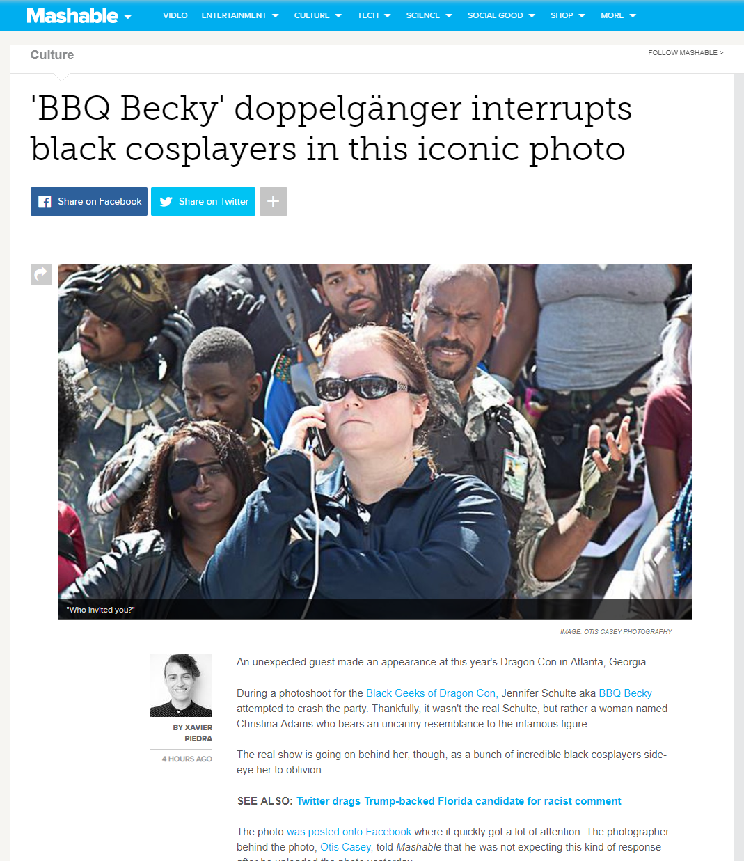 BBQ Beckie Cosplay at DragonCon 2018 Black Geeks Photoshoot