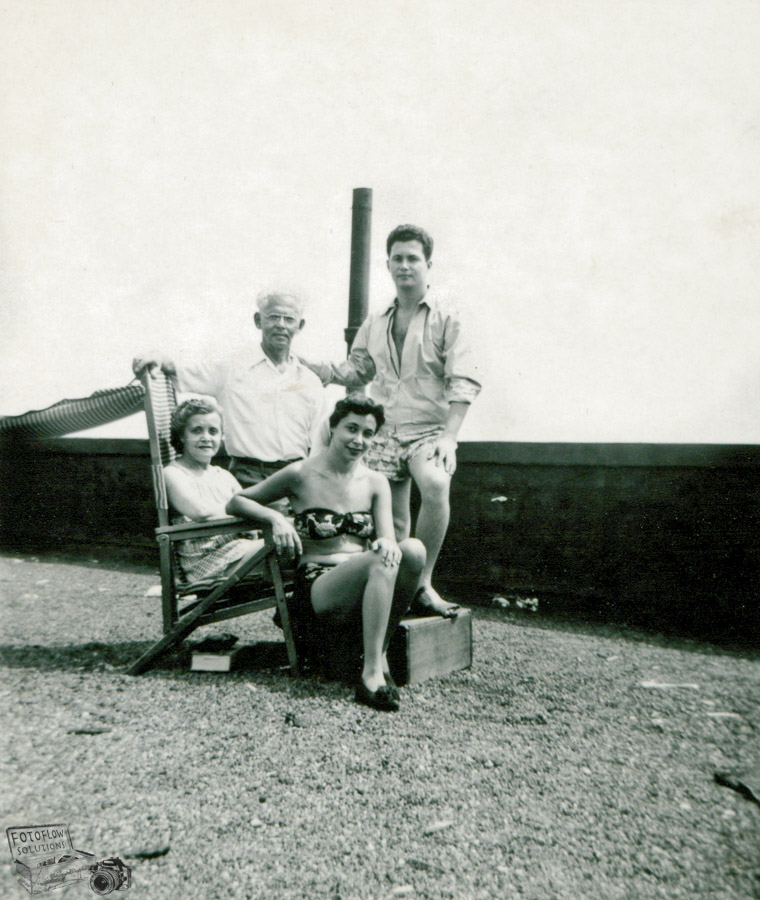 My grandparent, my mother and uncle Jerry