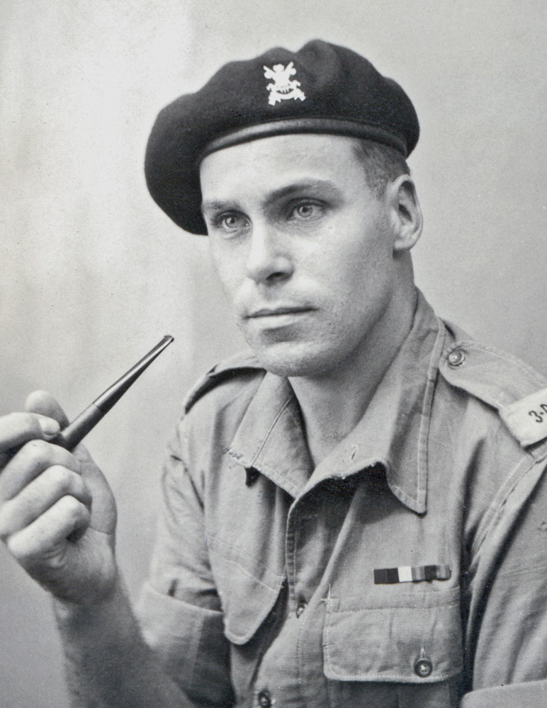 My father in his British WWII uniform