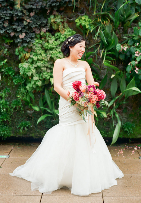 Photo:  Lauren Rosenau Photography  Floral: Nectar  Make up:  Natalie Rednour  Venue:  Foundation for the Carolinas