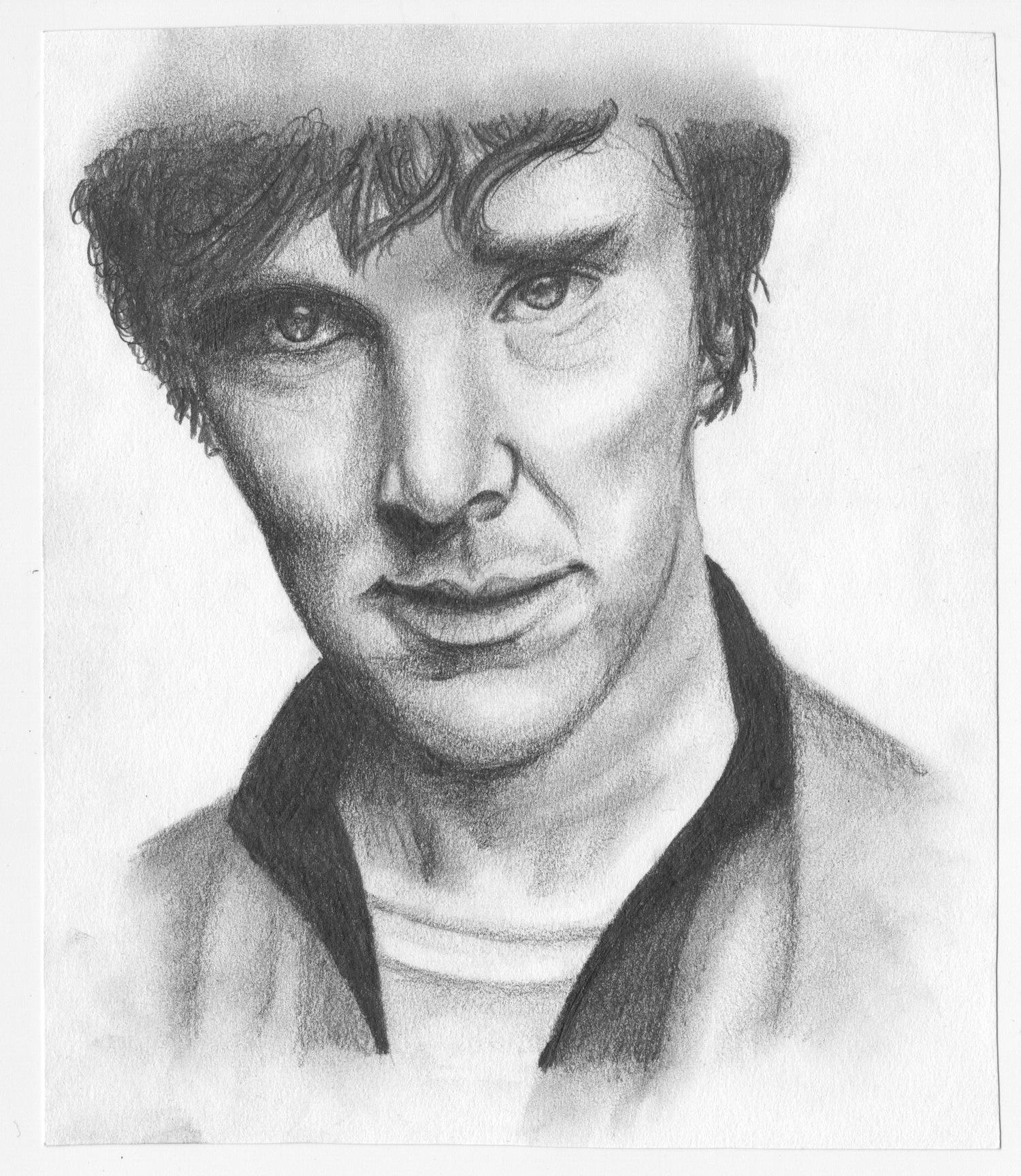Benedict Cumberbatch, 2014.