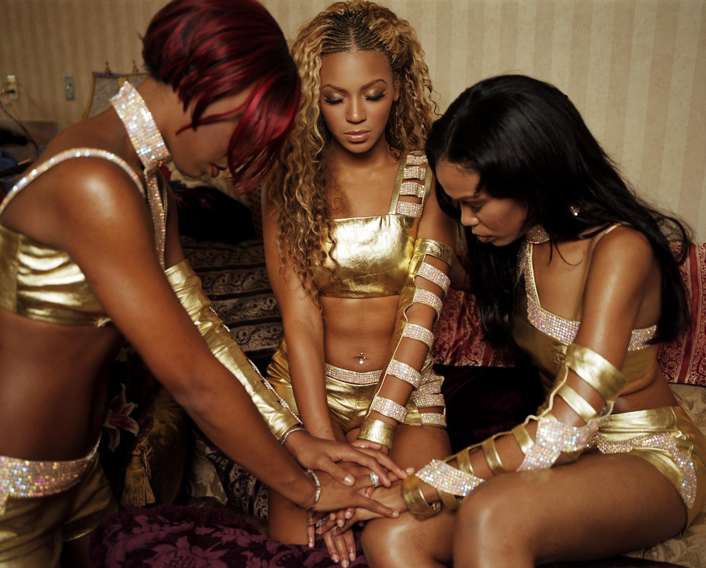 Destiny's Child, prayer before the performance