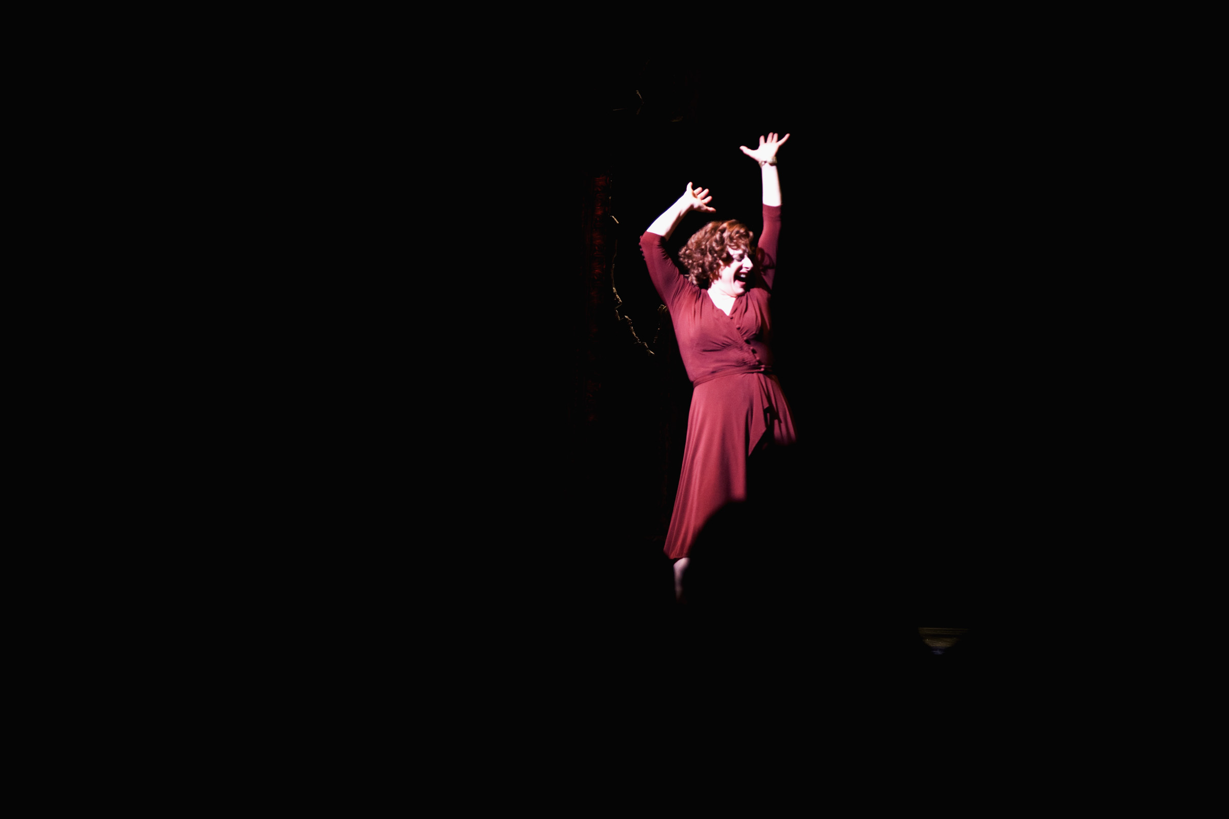 Patti LuPone from the last Gypsy performance