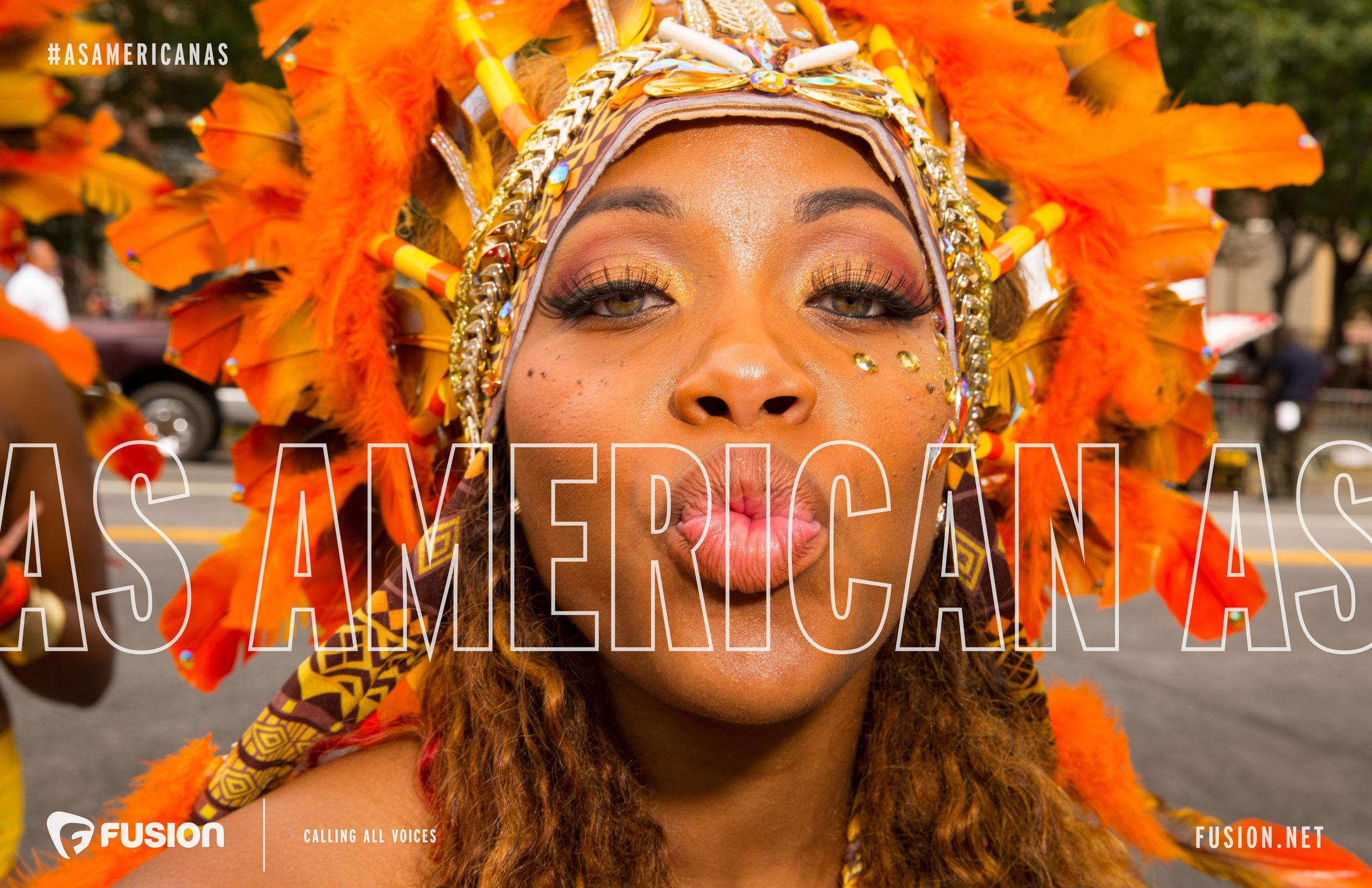 Fusion Campaign #AsAmericanAs