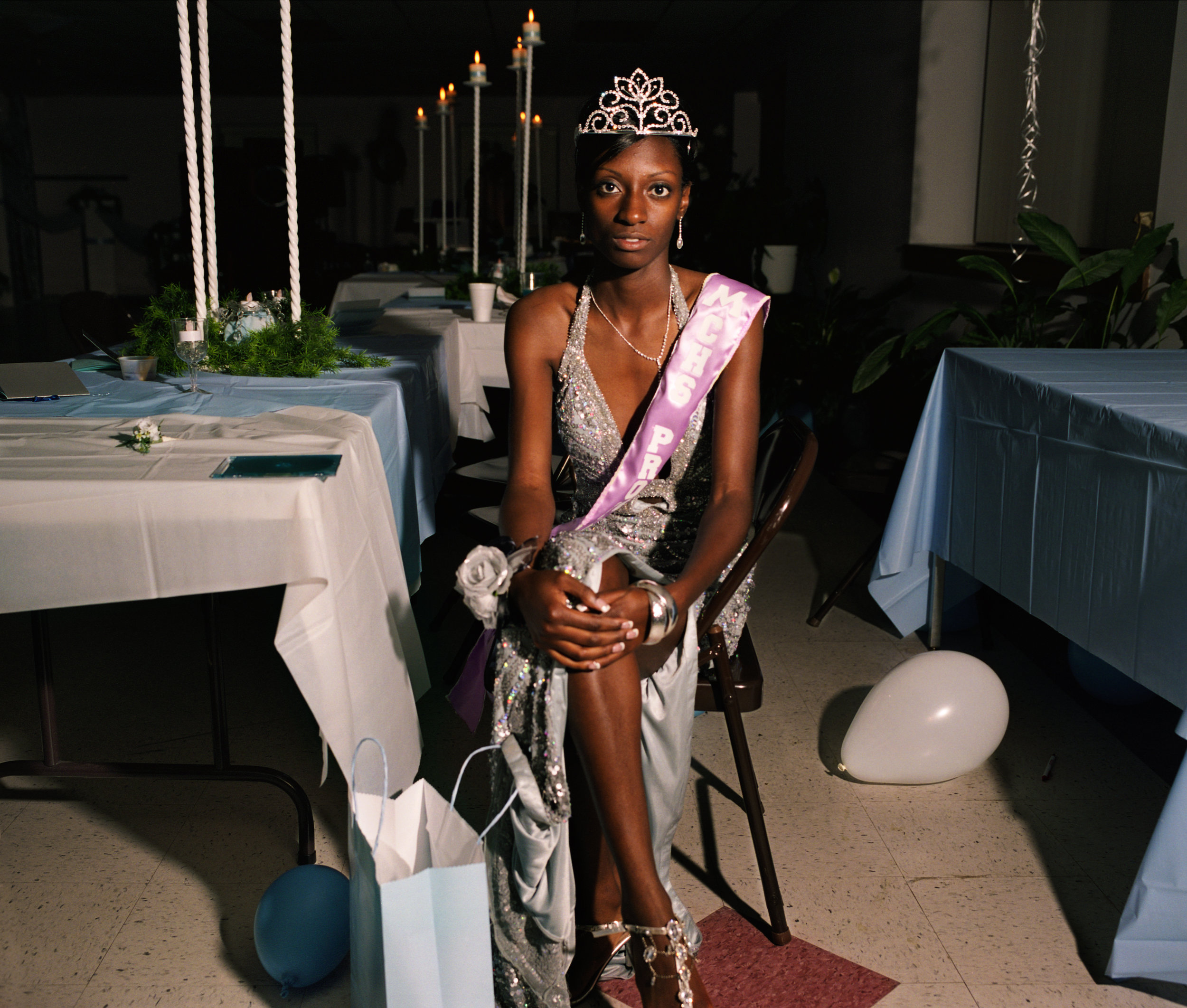 Lacy, the black prom queen, Mount Vernon, Georgia, 2008