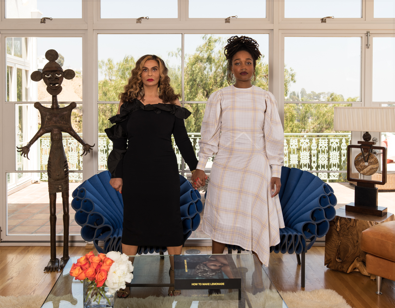 Tina Knowles with Kimberly Drew / Vanity Fair