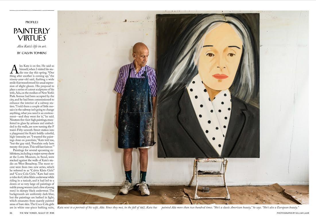Alex Katz / The New Yorker