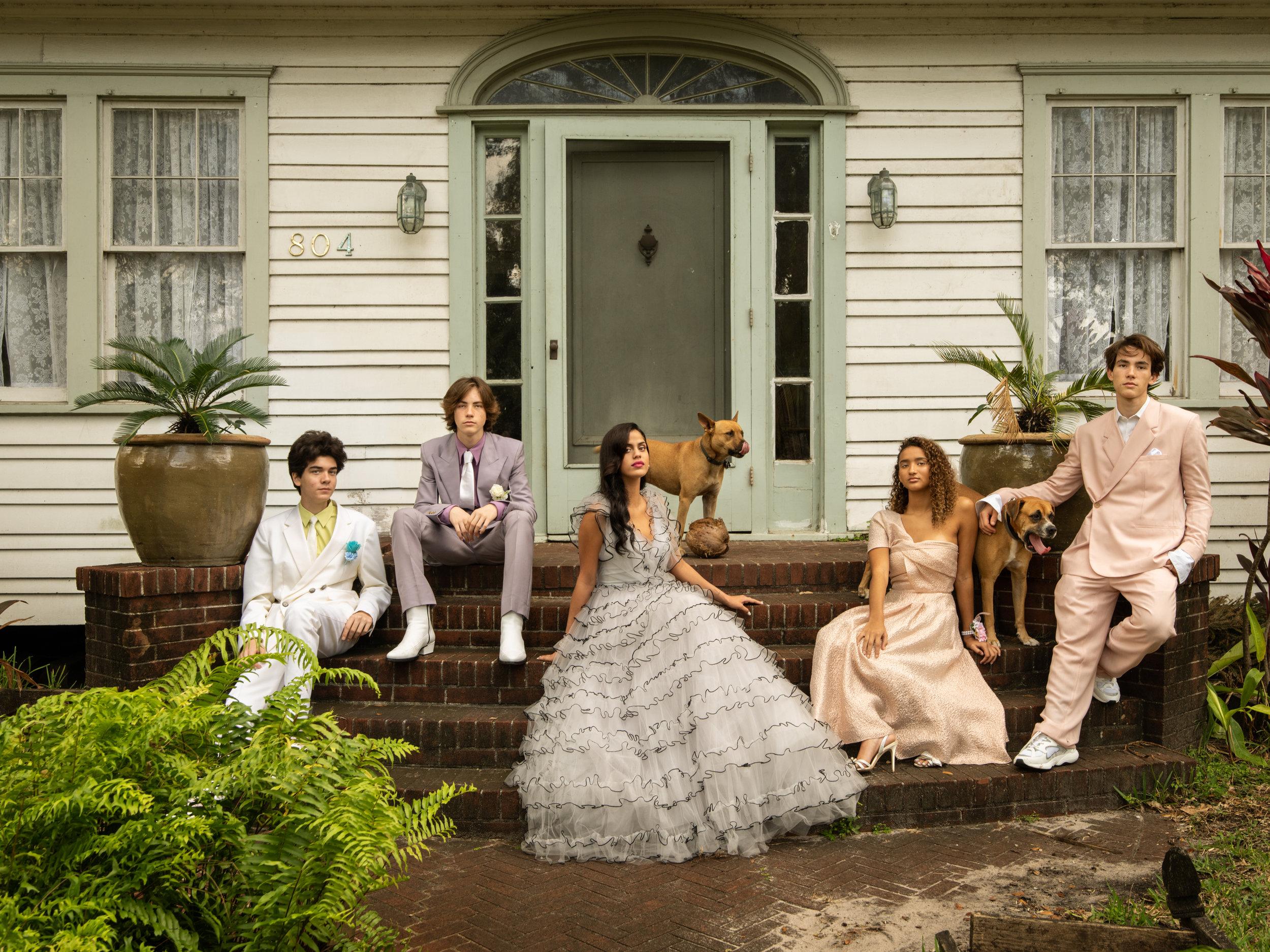 Ian, Aiden, Tatiana, Oriana, and Liam / Interview Magazine
