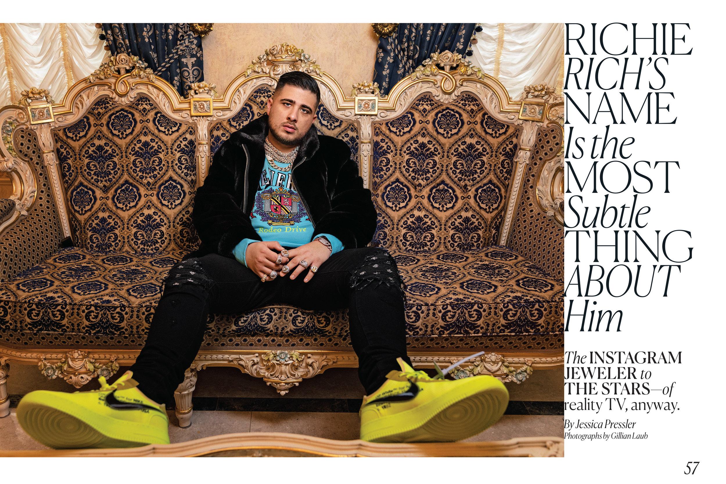 Richie Rich, / New York Magazine