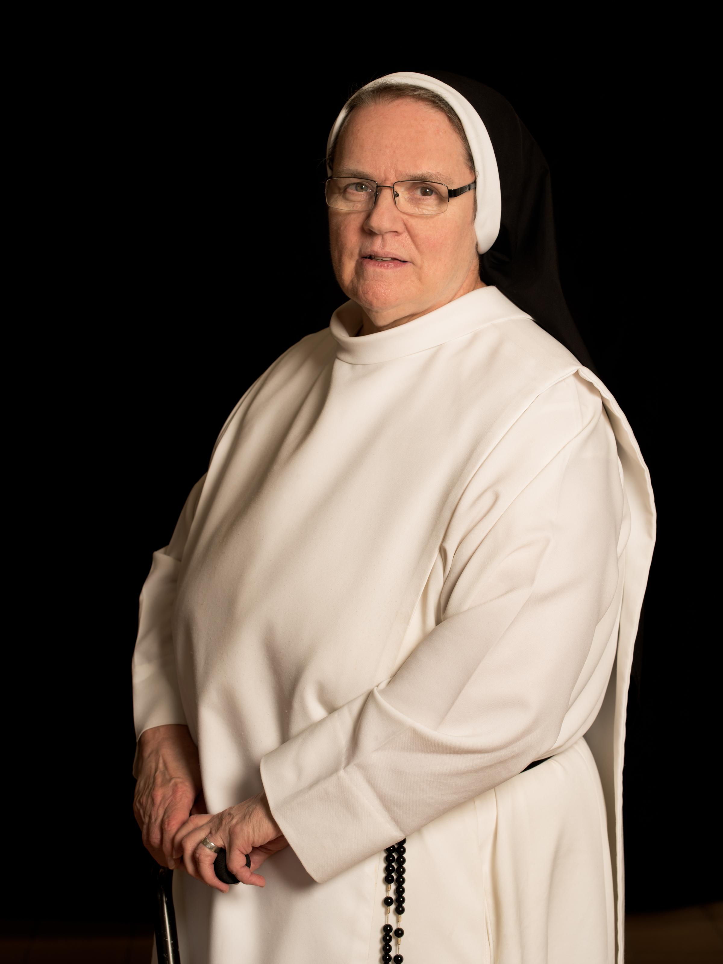 Sister Miriam, 66: 29 years.