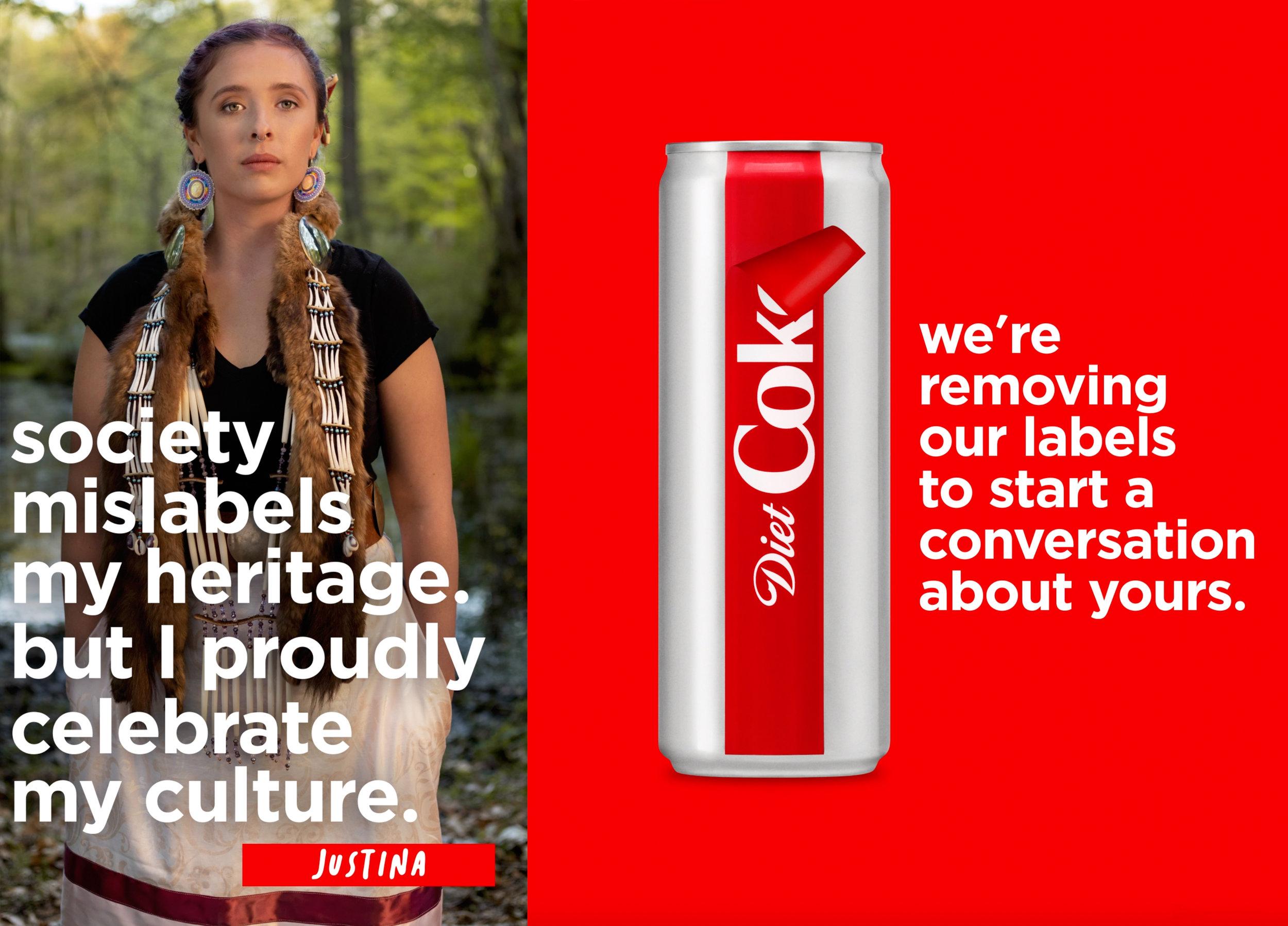 Justina / Diet Coke
