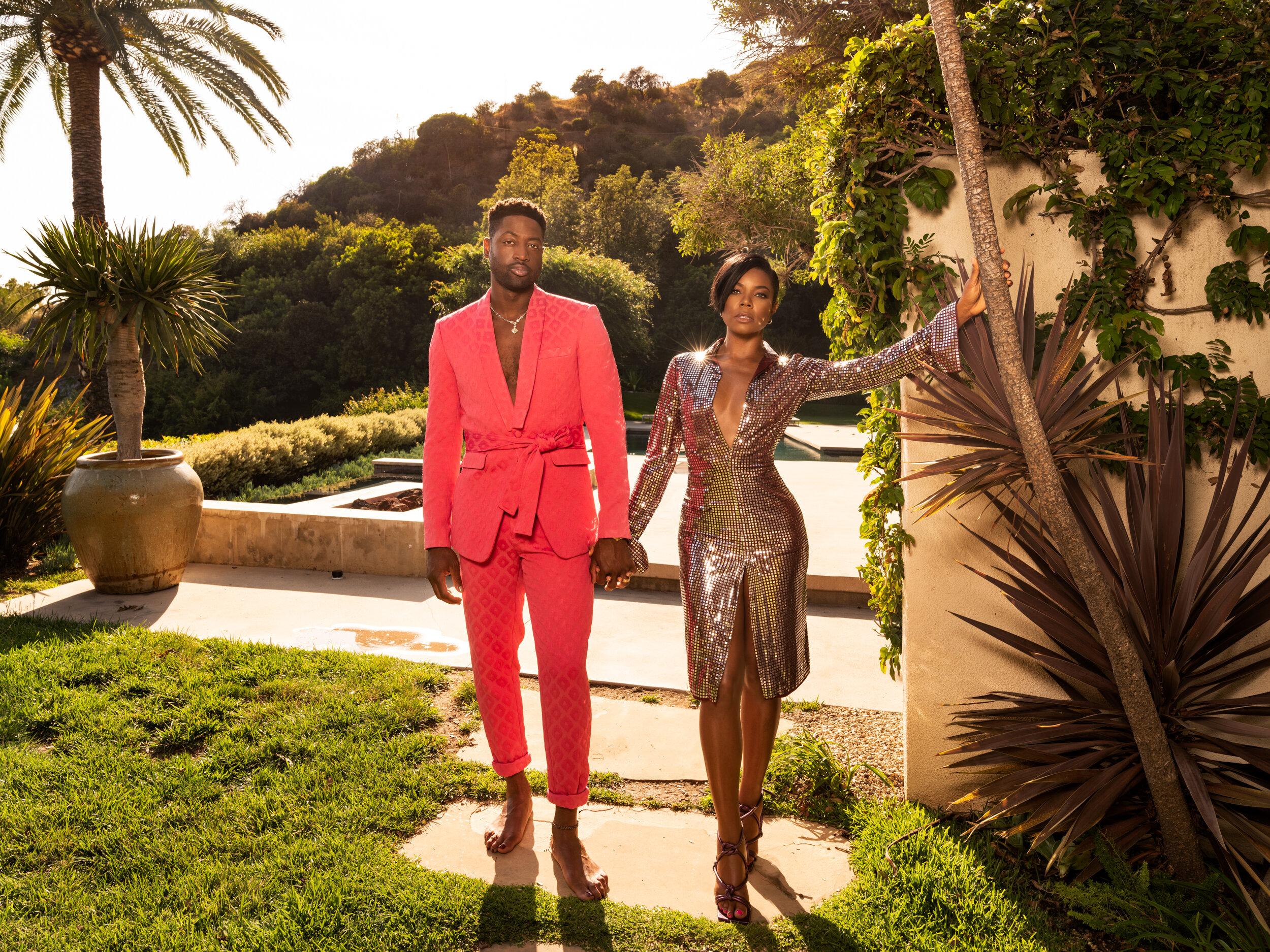 Dwyane Wade and Gabrielle Union / Vanity Fair