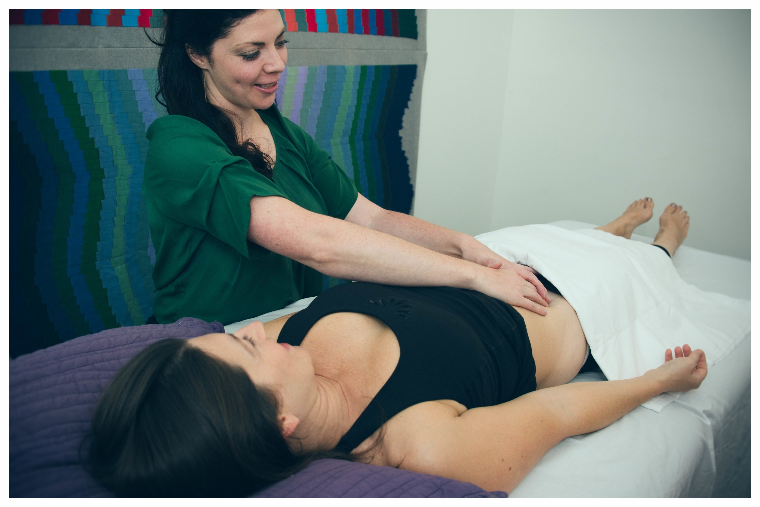 Visceral Manipulation - A gentle hands on therapy...
