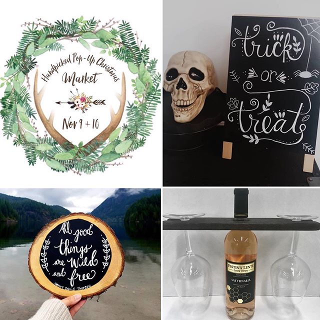 ✨VENDOR spotlight✨ @makercube featuring: @coastalmountaincalligraphy and @westcanyonwoodcraft . . . . #handpickedvintagemarket #popup #handpicked #vintage #market #vancouver #fraservalley #lowermainland #abbotsford #exploreabbotsford #shop #rustic #country #boho #handmade #supportlocal #weekend #homedecor #spring #chilliwack #mission #mapleridge #langely #cloverdale #surrey #whiterock #christmas #farmhouse #vintage