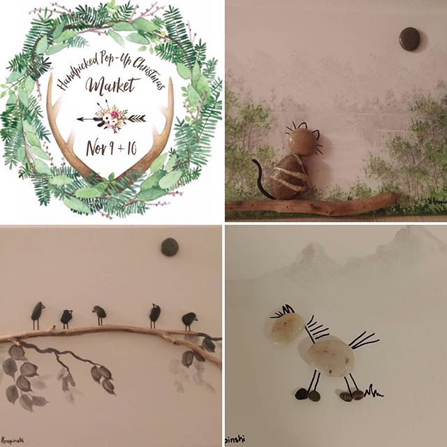 ✨VENDOR spotlight✨ @rockhoundsartstudio brings usher talent through unique & whimsical rock art 💕 . . . . #handpickedvintagemarket #popup #handpicked #vintage #market #vancouver #fraservalley #lowermainland #abbotsford #exploreabbotsford #shop #rustic #country #boho #handmade #supportlocal #weekend #homedecor #spring #chilliwack #mission #mapleridge #langely #cloverdale #surrey #whiterock #christmas #farmhouse #vintage