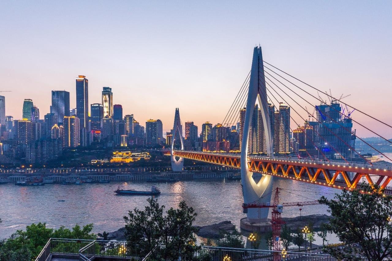 Chilling in Chongqing, China
