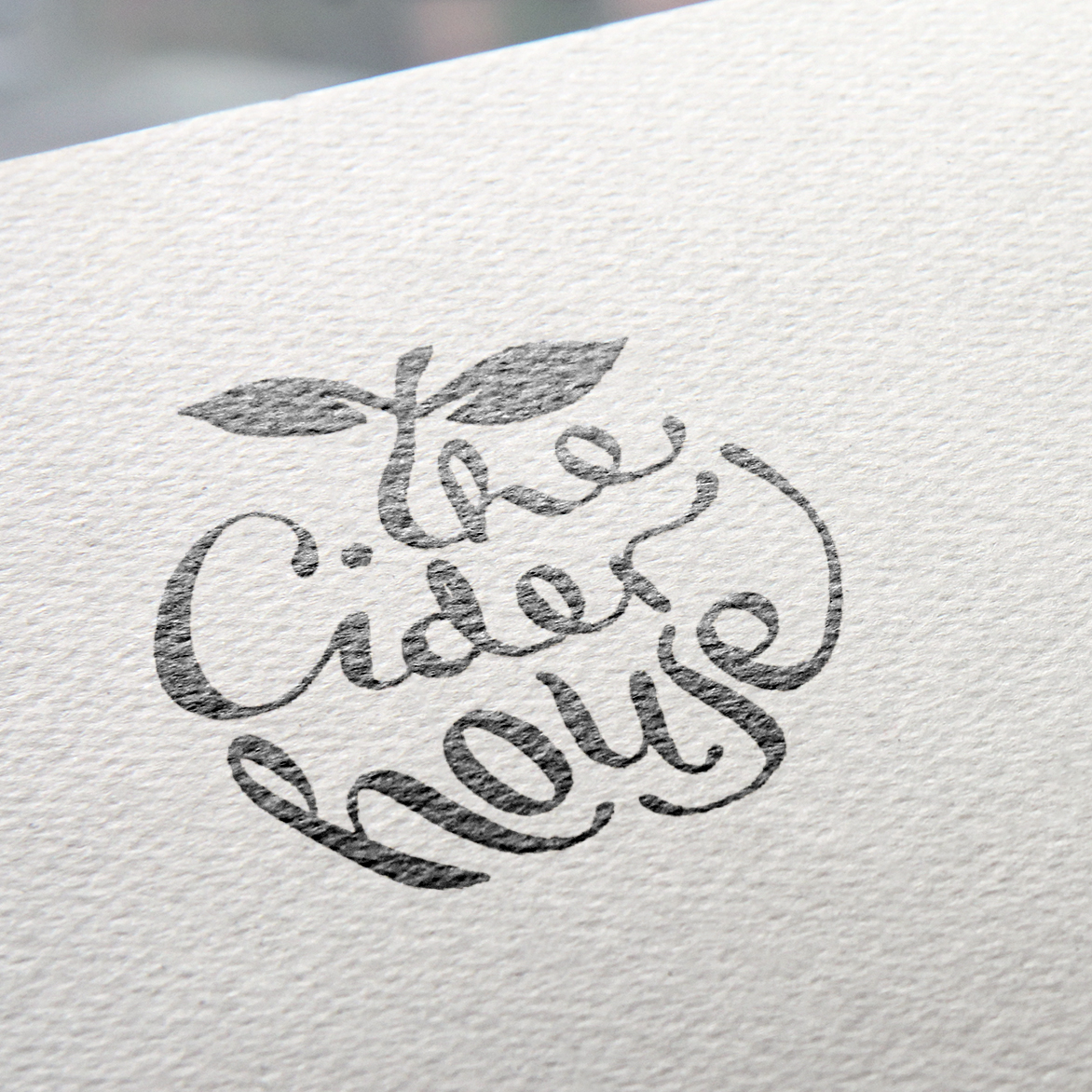 Logo Design, The Cider House