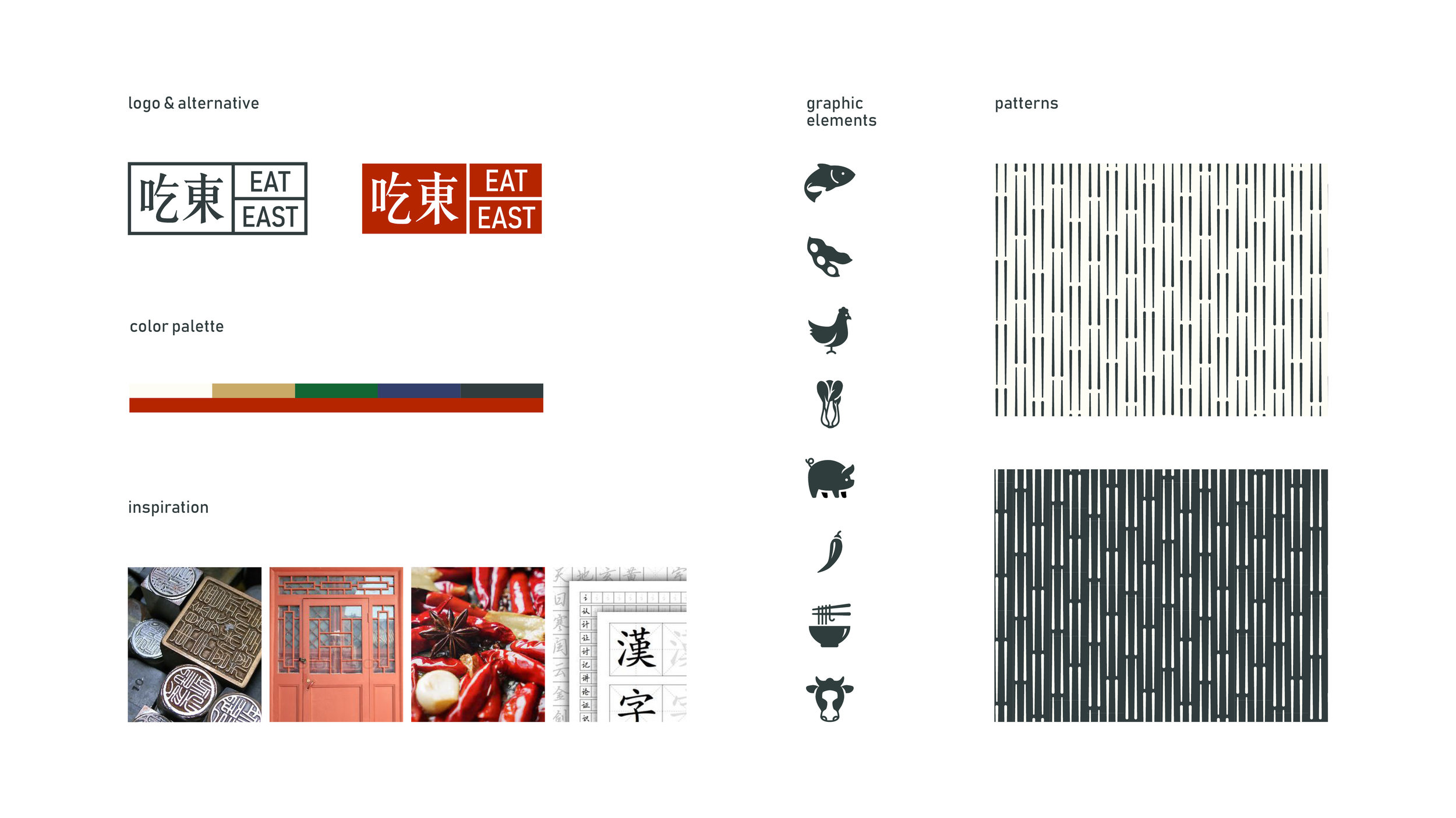 Branding design for a Chinese restaurant.