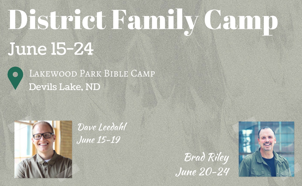 District Family Camp 2018 Click for more details.