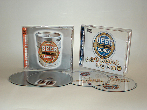 VARIOUS ARTISTS - THE BEST BEER DRINKING SONGS IN THE WORLD... EVER! Vols. 4 & 5