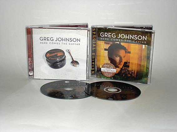 GREG JOHNSON - HERE COMES THE CAVIAR - ALBUM