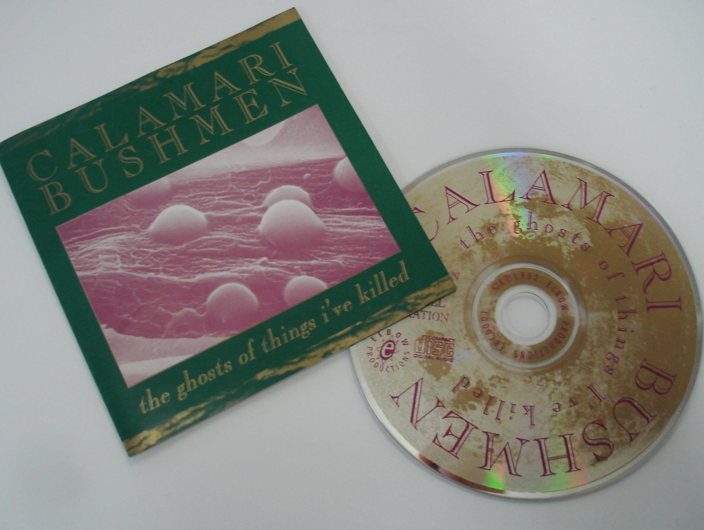 CALAMARI BUSHMEN - THE GHOSTS OF THINGS I'VE KILLED - MINI ALBUM