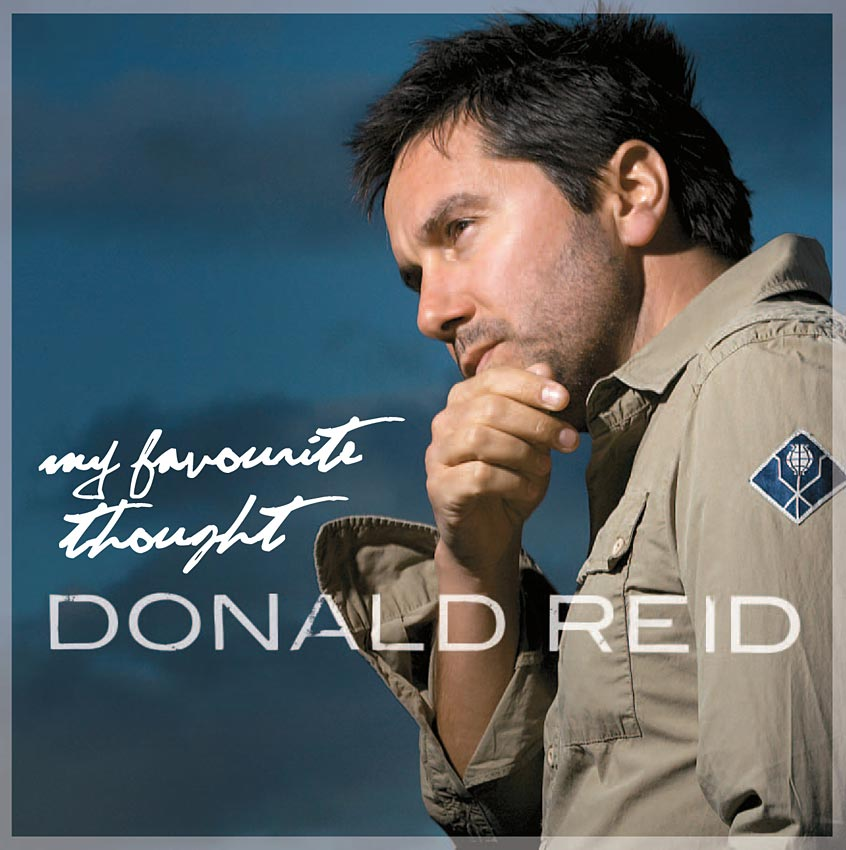 DONALD REID - MY FAVOURITE THOUGHT - SINGLE