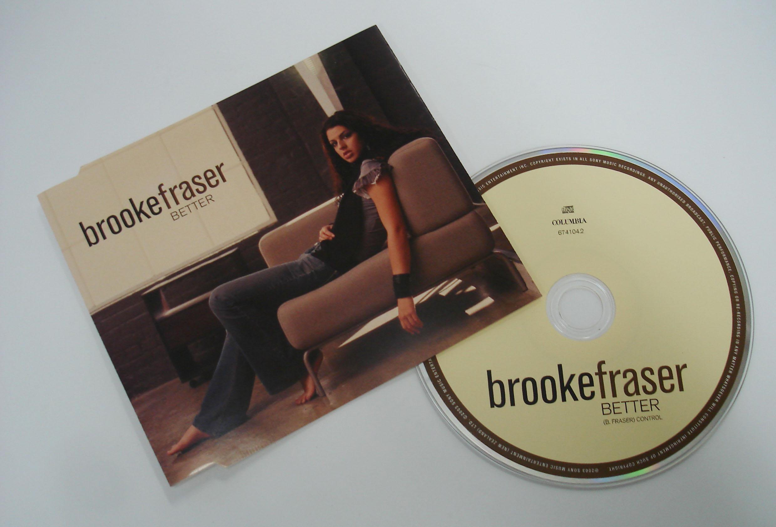 BROOKE FRASER - BETTER - SINGLE