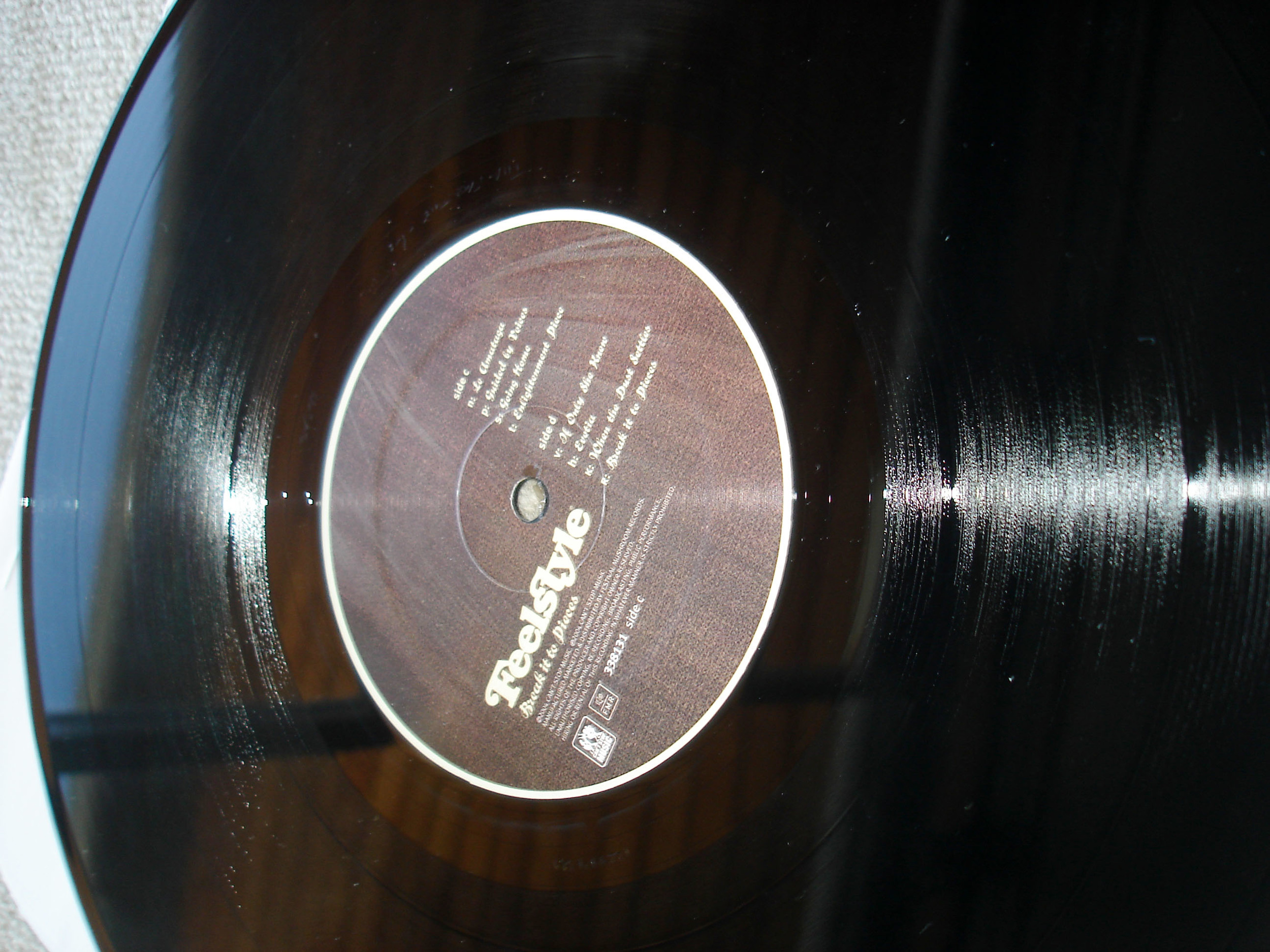 THE FEELSTYLE - BREAK IT TO PIECES - ALBUM