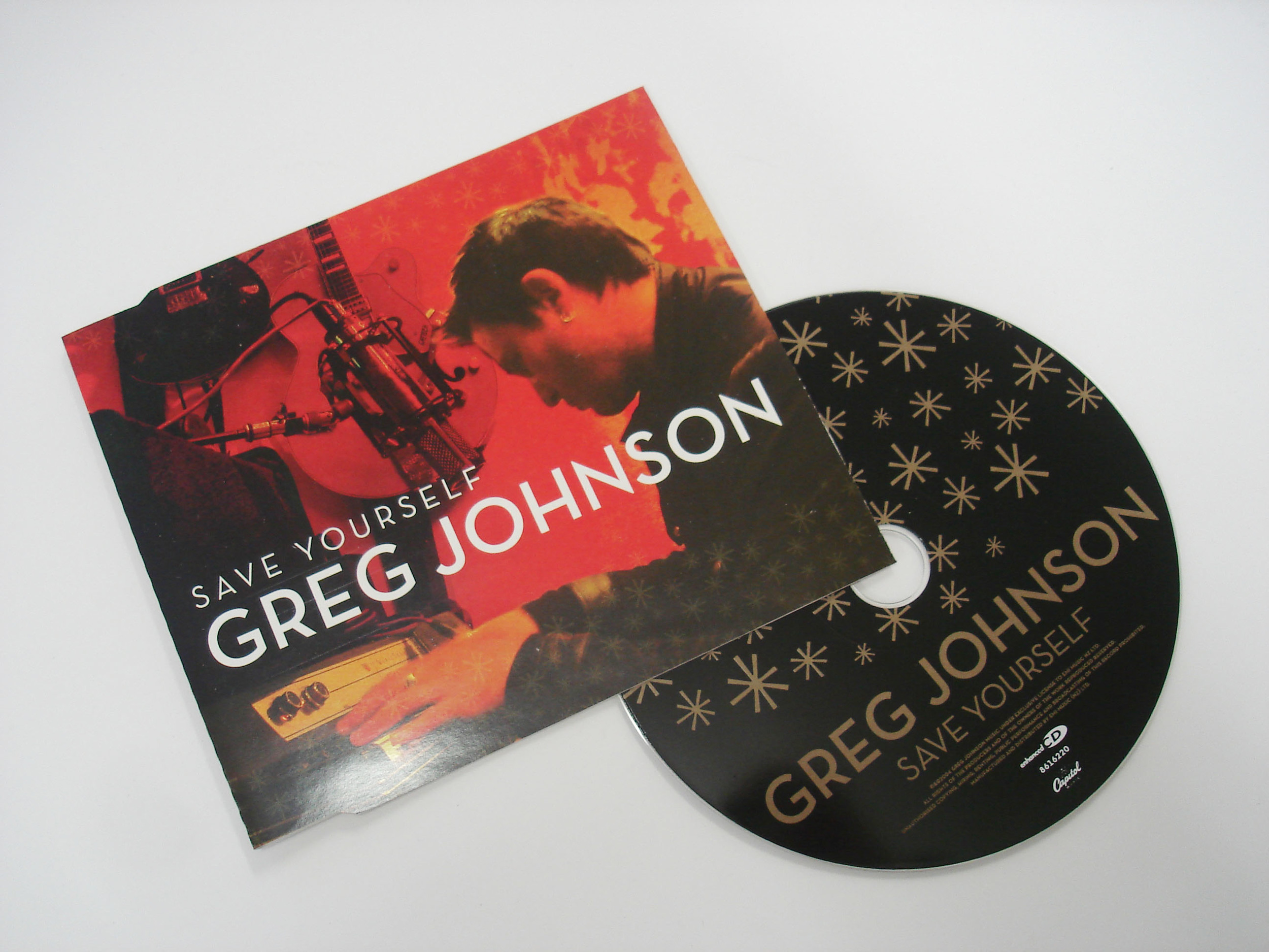 GREG JOHNSON - SAVE YOURSELF - SINGLE