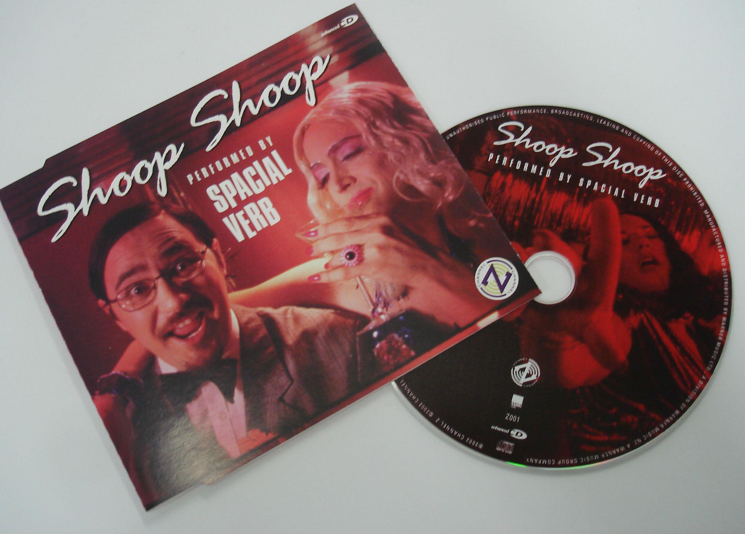 SPACIAL VERB - SHOOP SHOOP - SINGLE