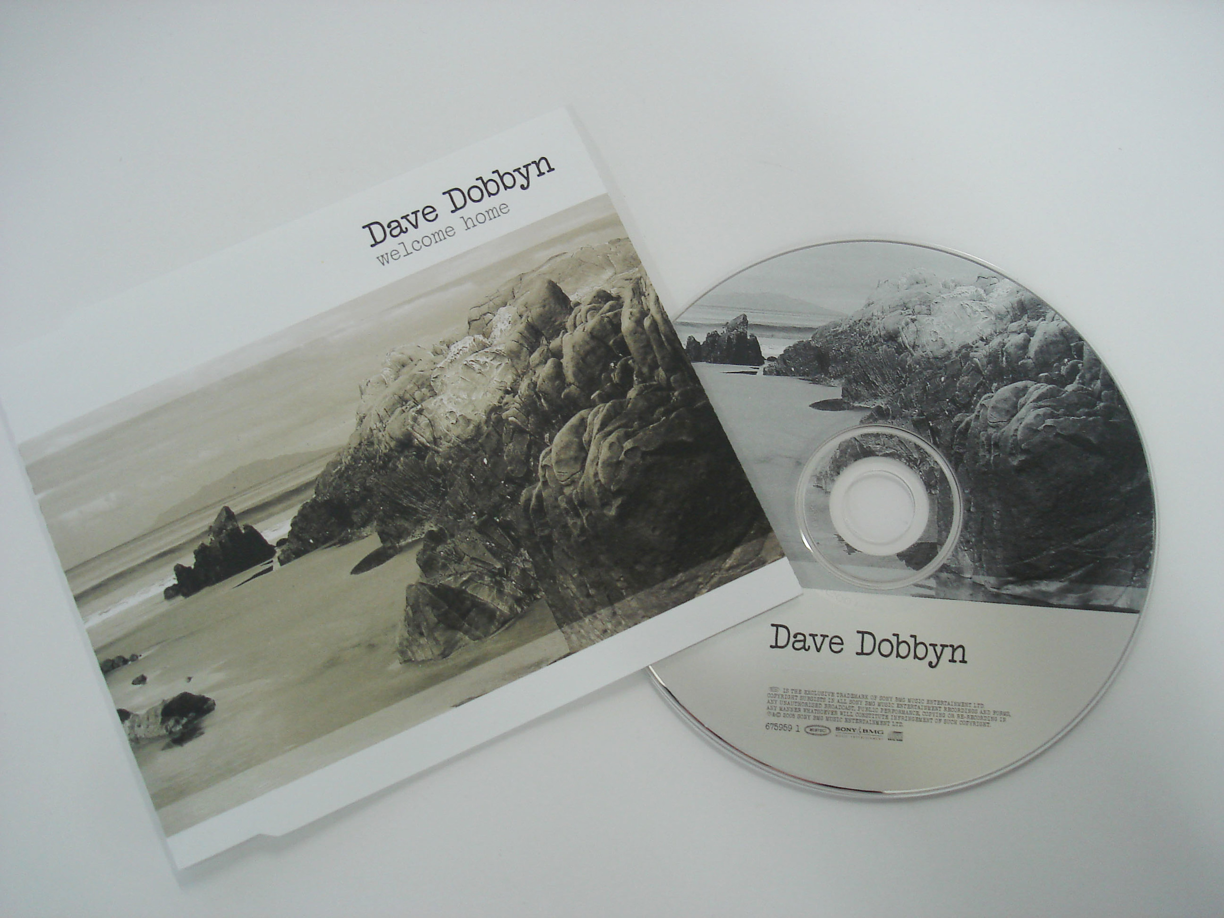 DAVE DOBBYN - WELCOME HOME - SINGLE