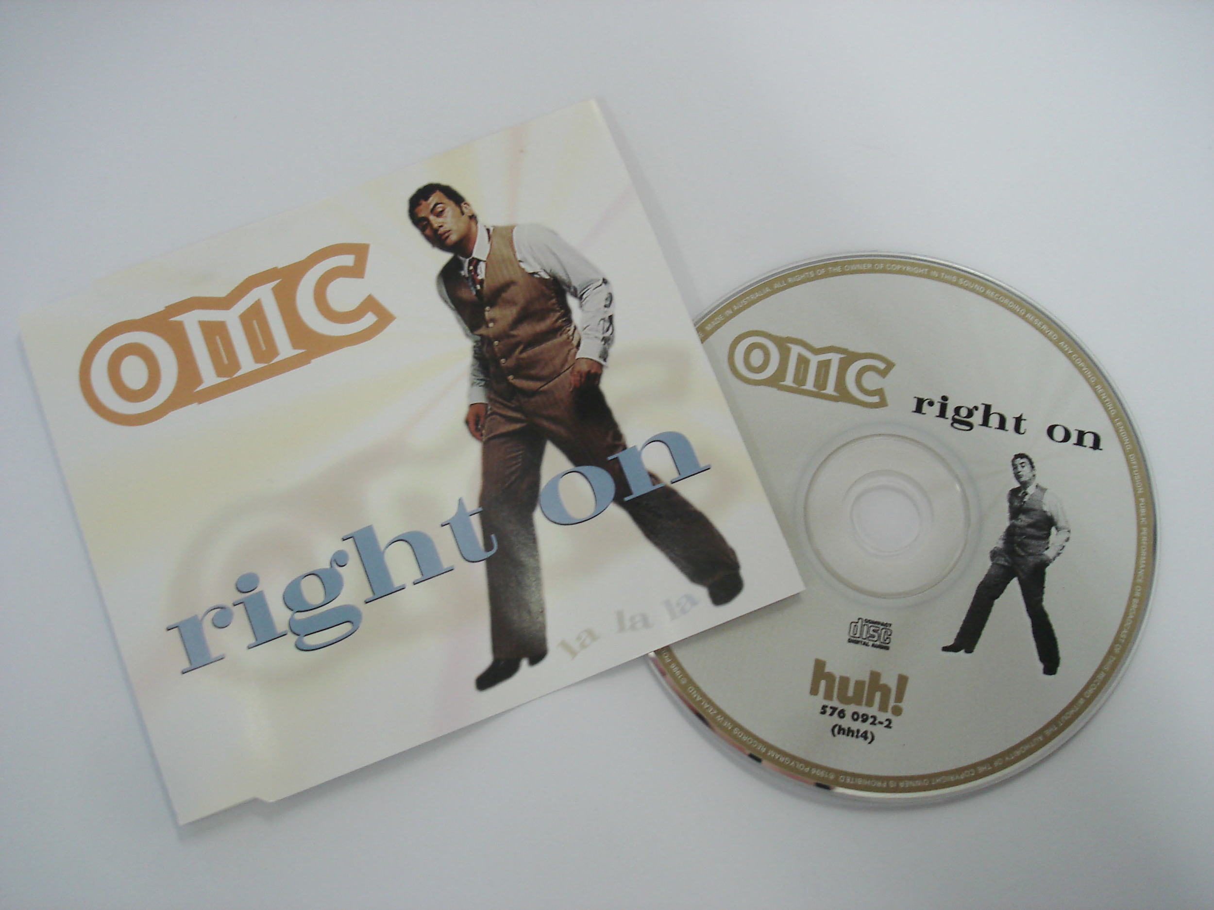 OMC - RIGHT ON - SINGLE
